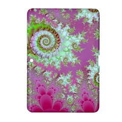 Raspberry Lime Surprise, Abstract Sea Garden  Samsung Galaxy Tab 2 (10 1 ) P5100 Hardshell Case  by DianeClancy