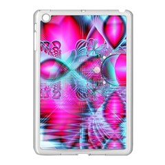 Ruby Red Crystal Palace, Abstract Jewels Apple Ipad Mini Case (white) by DianeClancy