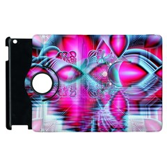 Ruby Red Crystal Palace, Abstract Jewels Apple Ipad 3/4 Flip 360 Case by DianeClancy