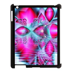 Ruby Red Crystal Palace, Abstract Jewels Apple Ipad 3/4 Case (black) by DianeClancy