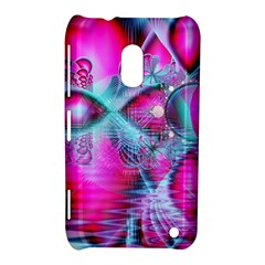 Ruby Red Crystal Palace, Abstract Jewels Nokia Lumia 620 Hardshell Case by DianeClancy