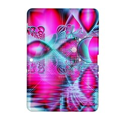 Ruby Red Crystal Palace, Abstract Jewels Samsung Galaxy Tab 2 (10 1 ) P5100 Hardshell Case