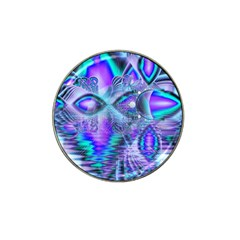 Peacock Crystal Palace Of Dreams, Abstract Golf Ball Marker 4 Pack (for Hat Clip) by DianeClancy