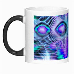 Peacock Crystal Palace Of Dreams, Abstract Morph Mug by DianeClancy
