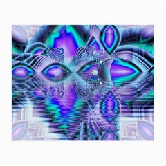Peacock Crystal Palace Of Dreams, Abstract Glasses Cloth (small) by DianeClancy