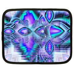 Peacock Crystal Palace Of Dreams, Abstract Netbook Sleeve (xl) by DianeClancy