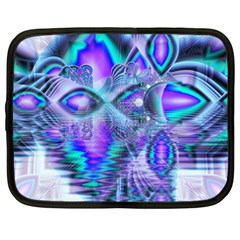 Peacock Crystal Palace Of Dreams, Abstract Netbook Sleeve (xxl) by DianeClancy