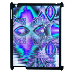 Peacock Crystal Palace Of Dreams, Abstract Apple Ipad 2 Case (black) by DianeClancy