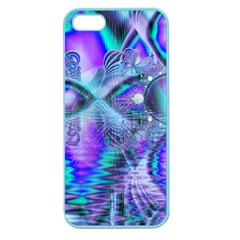 Peacock Crystal Palace Of Dreams, Abstract Apple Seamless Iphone 5 Case (color) by DianeClancy
