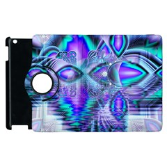 Peacock Crystal Palace Of Dreams, Abstract Apple Ipad 3/4 Flip 360 Case by DianeClancy