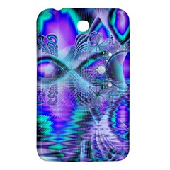 Peacock Crystal Palace Of Dreams, Abstract Samsung Galaxy Tab 3 (7 ) P3200 Hardshell Case  by DianeClancy