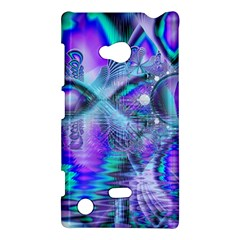 Peacock Crystal Palace Of Dreams, Abstract Nokia Lumia 720 Hardshell Case by DianeClancy
