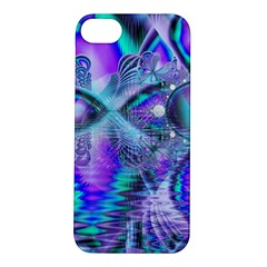 Peacock Crystal Palace Of Dreams, Abstract Apple Iphone 5s Hardshell Case by DianeClancy