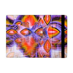 Crystal Star Dance, Abstract Purple Orange Apple Ipad Mini Flip Case by DianeClancy