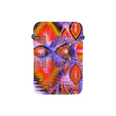 Crystal Star Dance, Abstract Purple Orange Apple Ipad Mini Protective Sleeve by DianeClancy