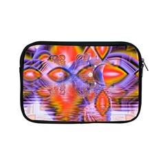 Crystal Star Dance, Abstract Purple Orange Apple Ipad Mini Zippered Sleeve by DianeClancy