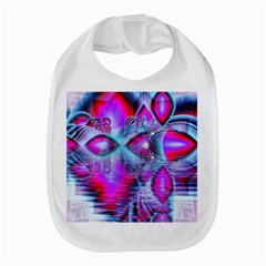Crystal Northern Lights Palace, Abstract Ice  Bib by DianeClancy
