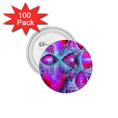 Crystal Northern Lights Palace, Abstract Ice  1 75  Button (100 Pack) by DianeClancy