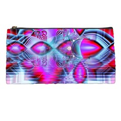 Crystal Northern Lights Palace, Abstract Ice  Pencil Case by DianeClancy