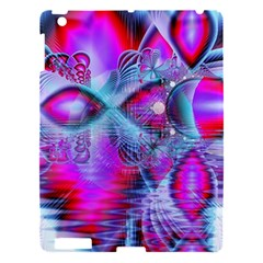 Crystal Northern Lights Palace, Abstract Ice  Apple Ipad 3/4 Hardshell Case by DianeClancy