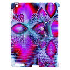 Crystal Northern Lights Palace, Abstract Ice  Apple Ipad 3/4 Hardshell Case (compatible With Smart Cover) by DianeClancy