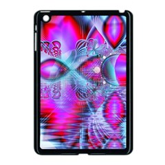 Crystal Northern Lights Palace, Abstract Ice  Apple Ipad Mini Case (black) by DianeClancy