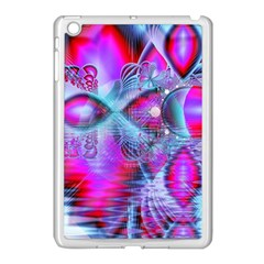 Crystal Northern Lights Palace, Abstract Ice  Apple Ipad Mini Case (white) by DianeClancy