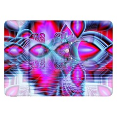 Crystal Northern Lights Palace, Abstract Ice  Samsung Galaxy Tab 8 9  P7300 Flip Case by DianeClancy