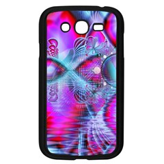 Crystal Northern Lights Palace, Abstract Ice  Samsung Galaxy Grand Duos I9082 Case (black) by DianeClancy