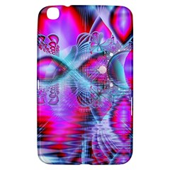 Crystal Northern Lights Palace, Abstract Ice  Samsung Galaxy Tab 3 (8 ) T3100 Hardshell Case  by DianeClancy