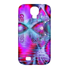 Crystal Northern Lights Palace, Abstract Ice  Samsung Galaxy S4 Classic Hardshell Case (pc+silicone) by DianeClancy