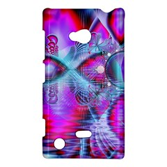 Crystal Northern Lights Palace, Abstract Ice  Nokia Lumia 720 Hardshell Case by DianeClancy