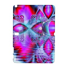 Crystal Northern Lights Palace, Abstract Ice  Samsung Galaxy Note 10 1 (p600) Hardshell Case by DianeClancy