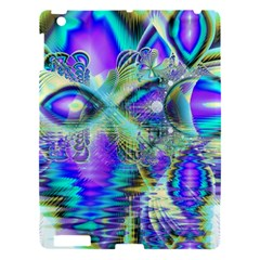 Abstract Peacock Celebration, Golden Violet Teal Apple Ipad 3/4 Hardshell Case by DianeClancy