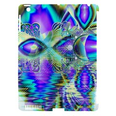 Abstract Peacock Celebration, Golden Violet Teal Apple Ipad 3/4 Hardshell Case (compatible With Smart Cover) by DianeClancy