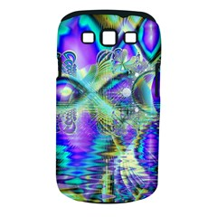 Abstract Peacock Celebration, Golden Violet Teal Samsung Galaxy S Iii Classic Hardshell Case (pc+silicone) by DianeClancy