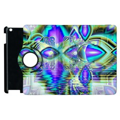 Abstract Peacock Celebration, Golden Violet Teal Apple Ipad 3/4 Flip 360 Case by DianeClancy
