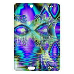 Abstract Peacock Celebration, Golden Violet Teal Kindle Fire Hd 7  (2nd Gen) Hardshell Case by DianeClancy