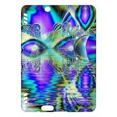 Abstract Peacock Celebration, Golden Violet Teal Kindle Fire HDX 7  Hardshell Case