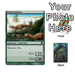 Ace Mesozoic Hunter Cards By Michael   Playing Cards 54 Designs   3qbom8ya1v18   Www Artscow Com Front - SpadeA