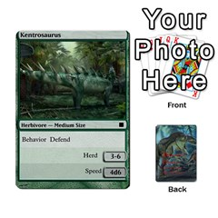 Mesozoic Hunter Cards By Michael   Playing Cards 54 Designs   3qbom8ya1v18   Www Artscow Com Front - Heart6