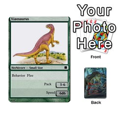 Mesozoic Hunter Cards By Michael   Playing Cards 54 Designs   3qbom8ya1v18   Www Artscow Com Front - Spade4