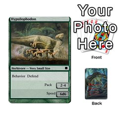 Mesozoic Hunter Cards By Michael   Playing Cards 54 Designs   3qbom8ya1v18   Www Artscow Com Front - Heart10