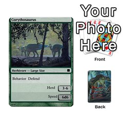 Mesozoic Hunter Cards By Michael   Playing Cards 54 Designs   3qbom8ya1v18   Www Artscow Com Front - Diamond2