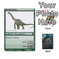 Mesozoic Hunter Cards By Michael   Playing Cards 54 Designs   3qbom8ya1v18   Www Artscow Com Front - Diamond3