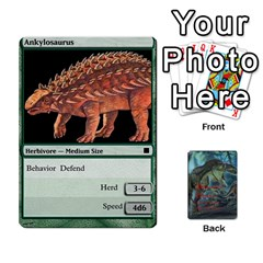 Mesozoic Hunter Cards By Michael   Playing Cards 54 Designs   3qbom8ya1v18   Www Artscow Com Front - Diamond5