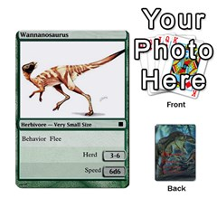 Mesozoic Hunter Cards By Michael   Playing Cards 54 Designs   3qbom8ya1v18   Www Artscow Com Front - Spade5