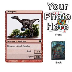 Jack Mesozoic Hunter Cards By Michael   Playing Cards 54 Designs   3qbom8ya1v18   Www Artscow Com Front - DiamondJ