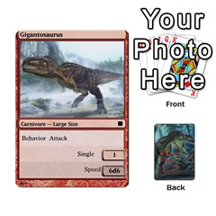 King Mesozoic Hunter Cards By Michael   Playing Cards 54 Designs   3qbom8ya1v18   Www Artscow Com Front - DiamondK