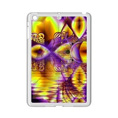 Golden Violet Crystal Palace, Abstract Cosmic Explosion Apple Ipad Mini 2 Case (white) by DianeClancy